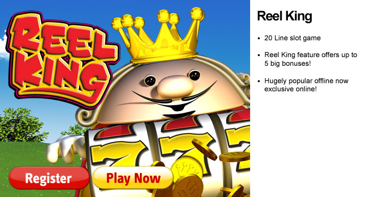 free slots games reel king